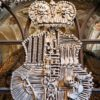 Kutna-Hora-schwarzenberg-family-coat-of-arms-made-of-real-human-bones