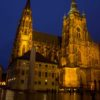 St-Vitus-Cathedral-Prague-Castle-at-Night